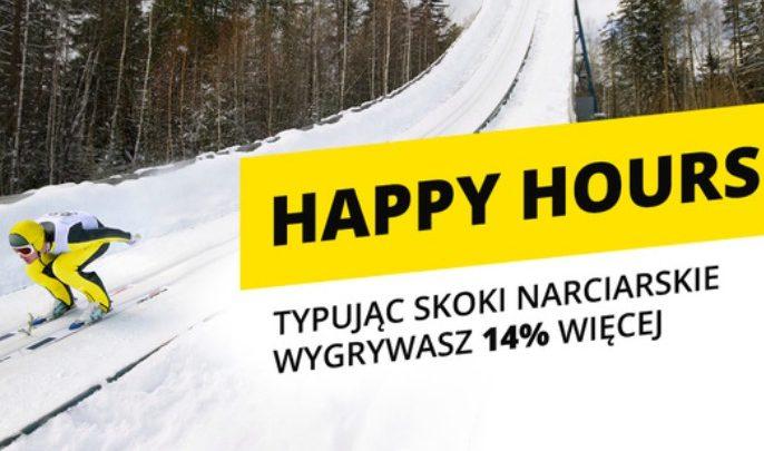 Photo of Bonus Happy Hours na Turniej Czerech Skoczni