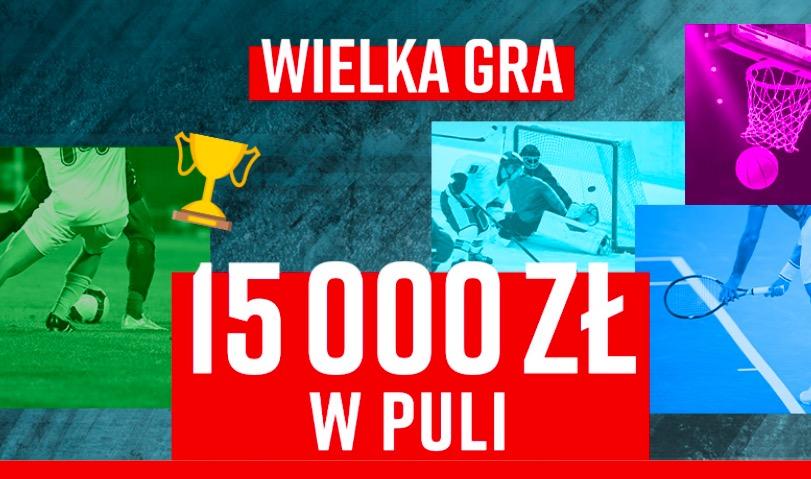 Bonus dla 100 najlepszych graczy w Betclic - Wielka Gra powraca! W puli 15 tysięcy PLN