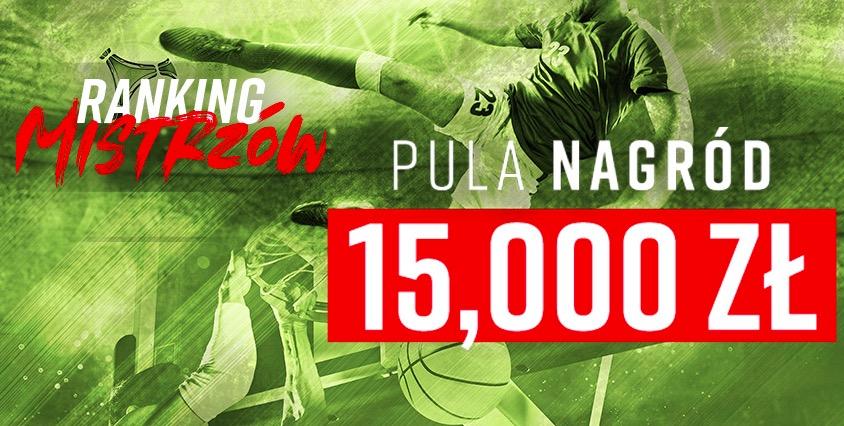 Ranking Mistrzów w Betclic - w puli 15 tysięcy złotych